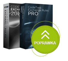 Poprawki do CodeTwo Exchange Rules 2010 i CodeTwo Exchange Rules PRO