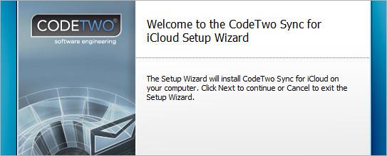 Pobierz i zainstaluj CodeTwo Sync for iCloud