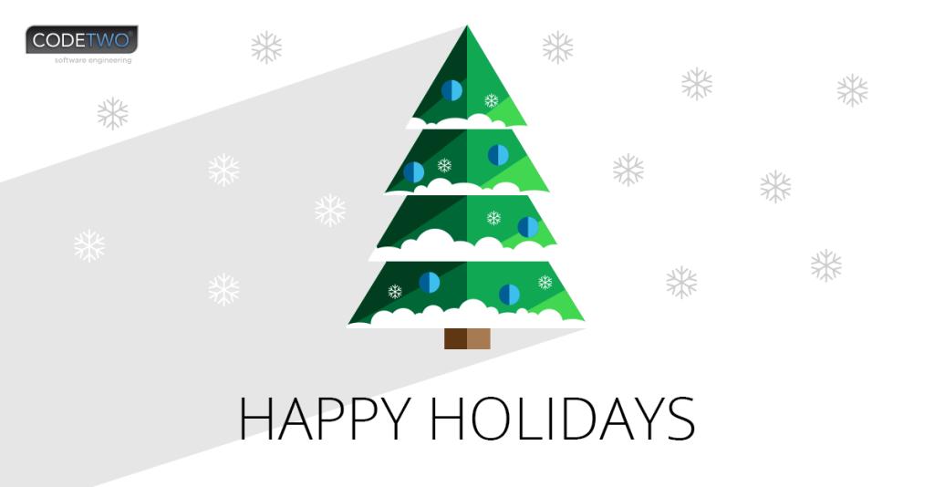 Życzenia świąteczne CodeTwo 2016