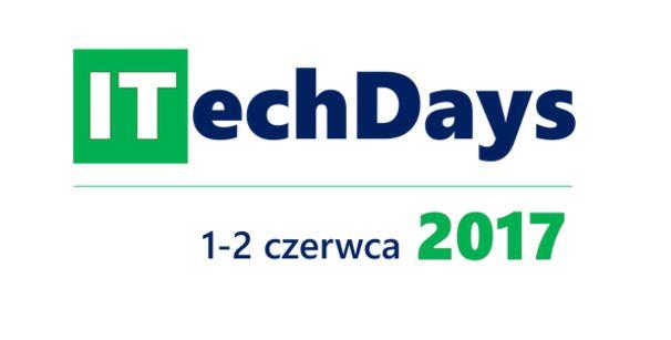 Spotkajmy sie na konferencji ITechDays poświęconej technologii Microsoft.