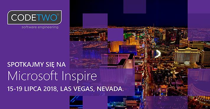 CodeTwo na konferencji Microsoft Inspire 2018
