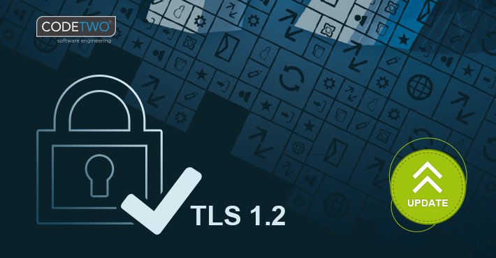 Dostępne nowe wersje produktów CodeTwo ze wsparciem dla TLS 1.2