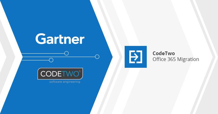 CodeTwo ponownie jako reprezentatywny dostawca w raporcie Gartnera