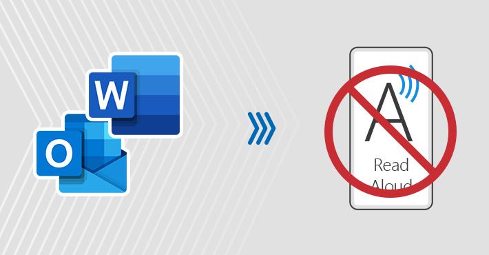 Jak wyłączyć funkcję Czytaj na głos w programie Outlook i Word
