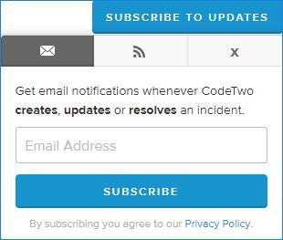 Konfiguracja powiadomień - email/feed