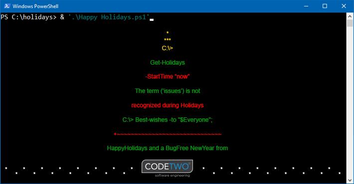 Wesołych Świąt życzy CodeTwo