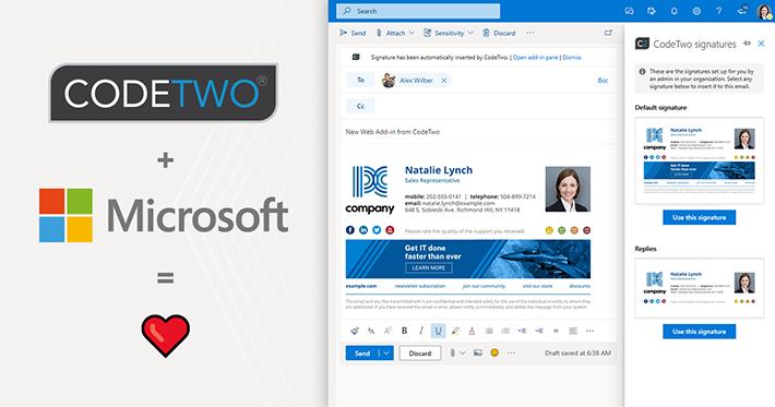 Pierwszy na świecie nowoczesny Web  Add-in do automatycznych podpisów email w Outlooku i OWA