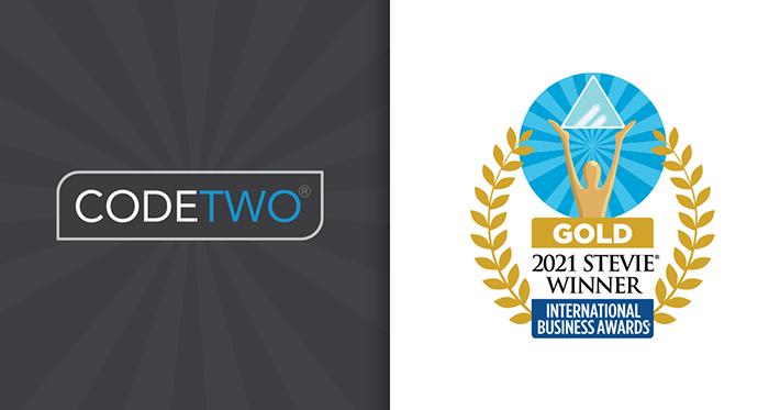 Podwójne zwycięstwo CodeTwo Email Signatures for Office 365 w konkursie Stevie Awards