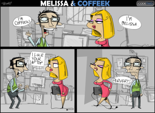 Melissa & Coffeek - CodeTwo
