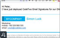 Najlepsze obrazy na tablicy stopka email (12) | Signature ...