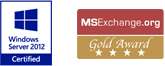 MS Exchange Gold Award Badge