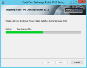 Exchange Rules installation