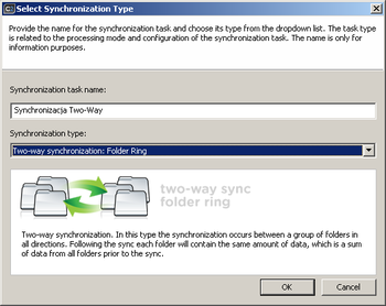 Exchange sync two way synchronization